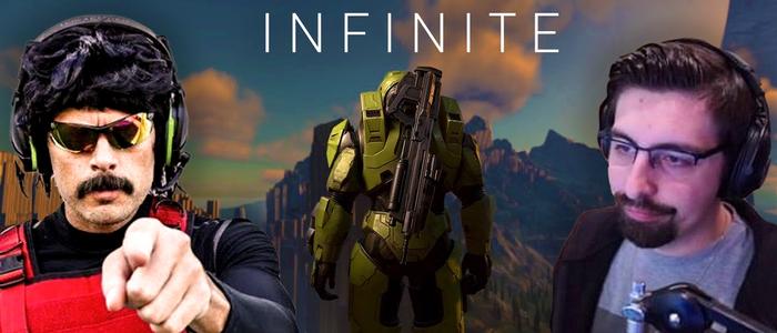 Halo Infiniteは、ランク付けされたモードを分離することで、シュラウドやDrDisRespectなどのストリーマーをなだめようとしています。